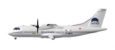 The SAFIRE ATR42 offers a big scientific payload Image 1